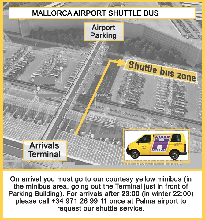 Car Hire Palma Airport >> Mallorca Airport Shuttle